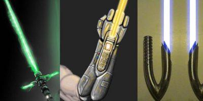 91c1f8a050 13 incríveis versões de sabres de luz criados pelos fãs que deveriam estar  nos filmes