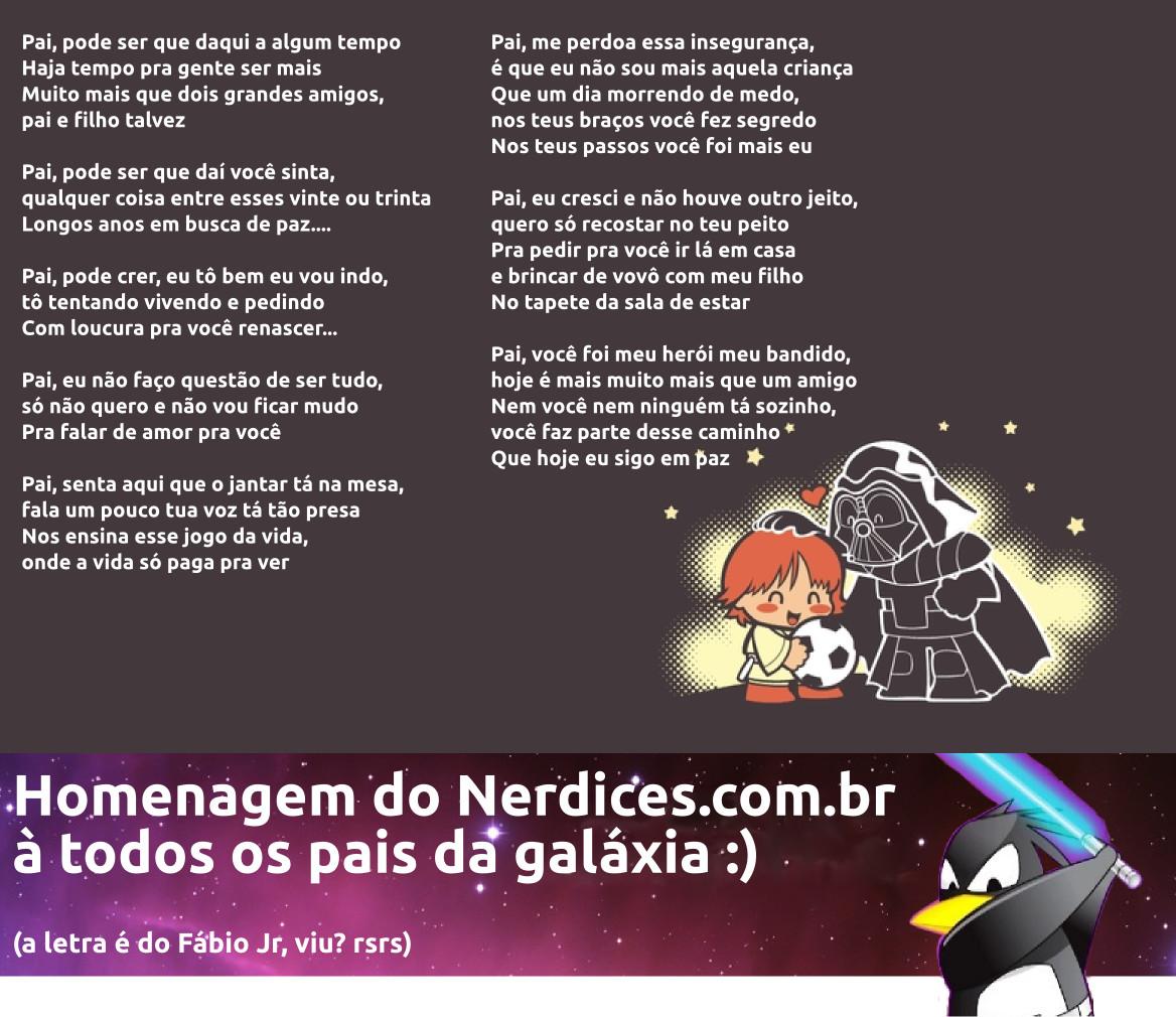 b200c61847 Homenagem do Nerdices neste dia dos pais  ) – Nerdices.com.br